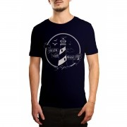 Camiseta Holdfast Follow Your Light Azul Azul Marinho