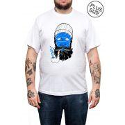 Camiseta Holdfast Sailor Pipe - Branco - Plus Size - Tamanho Grande XG