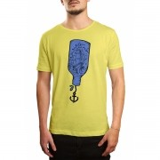 Camiseta Holdfast Ship In A Bottle Amarela Amarelo
