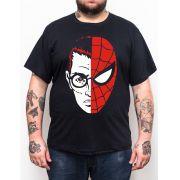 Camiseta Homem Aranha - Plus Size - Tamanho XG