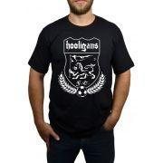 Camiseta Hooligans Brasão Preto