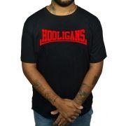 Camiseta Hooligans Logo Vermelho