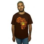 Camiseta HShop Africa Marrom