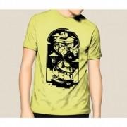 Camiseta HShop Ampulheta Amarelo