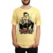 Camiseta HShop Bastardos Inglórios Amarelo
