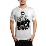 Camiseta HShop Bastardos Inglórios Branco