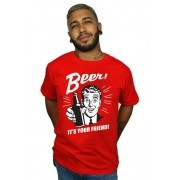 Camiseta Beer Vermelho