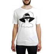 Camiseta HShop Bite Me! - Branco