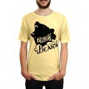 Camiseta HShop Black Bears Amarelo