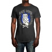 Camiseta HShop Black Wings Cinza