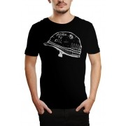 Camiseta HShop Born To Kill - Preto
