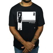 Camiseta HShop Camiseta Amy Winehouse Ska - 2 Soul Records - Preta