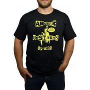 Camiseta HShop Camiseta Angelic Upstarts - Preta