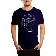 Camiseta HShop Can See U  - Azul Marinho