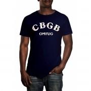 Camiseta HShop Cbgb Azul