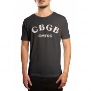 Camiseta HShop Cbgb Cinza