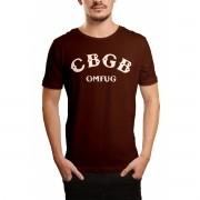 Camiseta HShop Cbgb Marrom