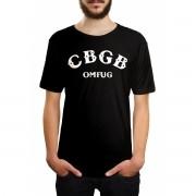 Camiseta CBGB Logo Preto