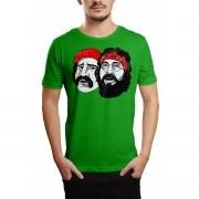 Camiseta HShop Cheech & Chong Verde