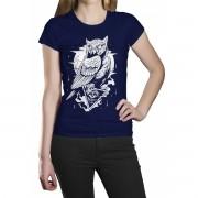 Camiseta HShop Coruja Azul
