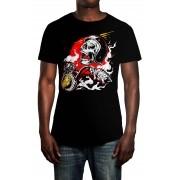 Camiseta HShop Crazy Riders Preto