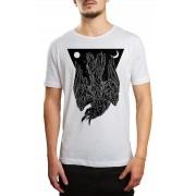 Camiseta Hshop Crow Branco