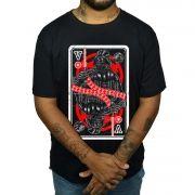 Camiseta Darth Vader - Carta de Baralho