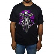 Camiseta Destruidor Tartarugas Ninjas - Preto