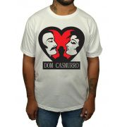 Camiseta Dom Casmurro - Machado De Assis - Literatura