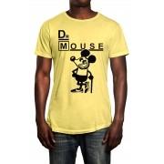 Camiseta HShop Dr Mouse Amarela