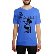 Camiseta HShop Dr Mouse Azul