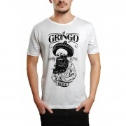 Camiseta HShop El Gringo Branco Branco