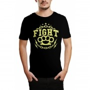 Camiseta HShop Fight! Preto