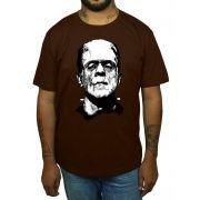 Camiseta HShop Frankenstein Marrom