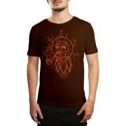 Camiseta HShop Future Man - Marrom
