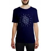 Camiseta HShop Galaxia Azul Marinho