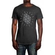 Camiseta HShop Galáxia Cinza