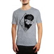 Camiseta HShop Girlz - Cinza Mescla