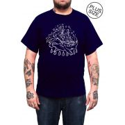 Camiseta Holdfast Hammer! - Azul Marinho - Plus Size - Tamanho Grande XG