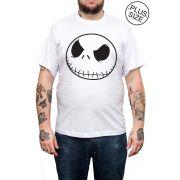 Camiseta Hshop Jack - Branco - Plus Size - Tamanho Grande XG
