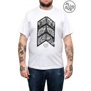 Camiseta Hshop John Butler Trio - Branco - Plus Size - Tamanho Grande XG