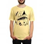 Camiseta HShop Kombi Amarelo