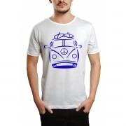 Camiseta HShop Kombi Branco