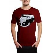 Camiseta HShop Kombi Vinho