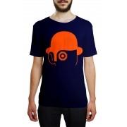 Camiseta HShop Laranja Mecânica Azul