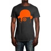 Camiseta HShop Laranja Mecânica Cinza