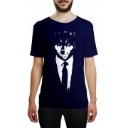 Camiseta HShop Lobo Azul