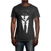 Camiseta HShop Lobo Cinza