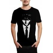 Camiseta HShop Lobo Preto