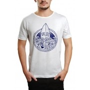 Camiseta HShop Love Surf - Branco